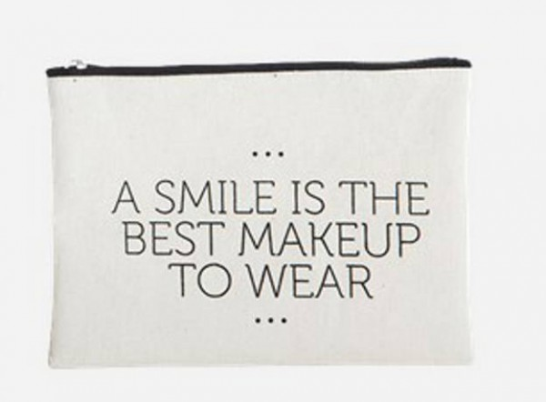 Make-up Tasche Smile von House Doctor
