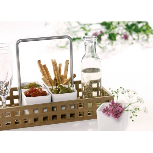 Pantry Caddy aus Teak von Skagerak, Snacks