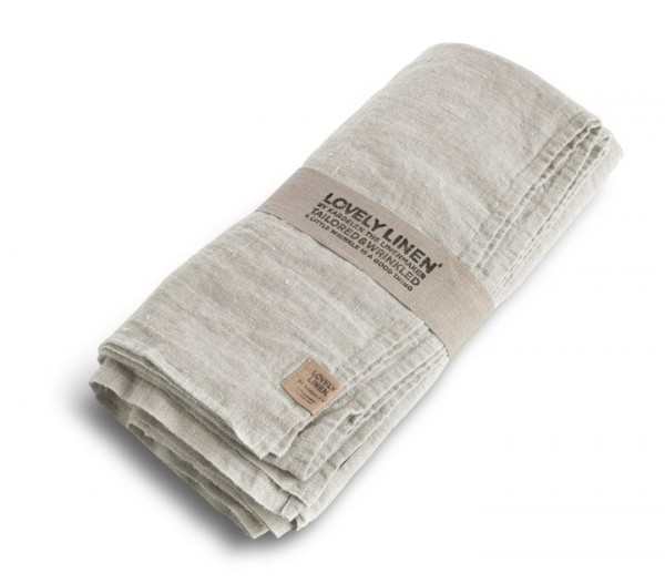 Leinentischdecke LOVELY (light grey) Lovely Linen von Kardelen