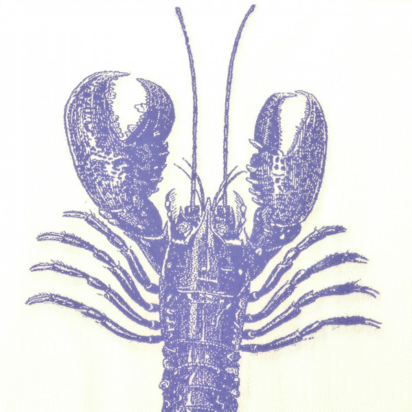 Papierservietten Lobster marine