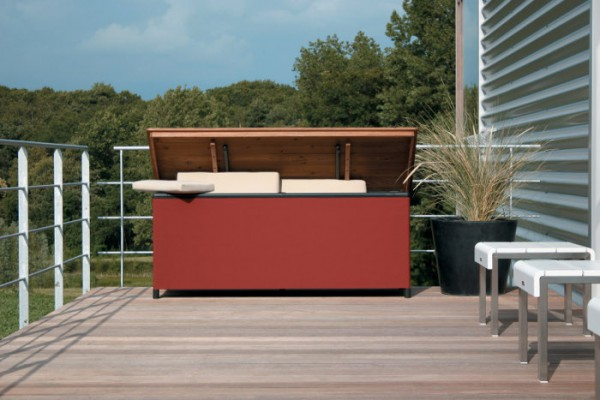 Gartenstaubox Chest´R von Atelier Tradewinds