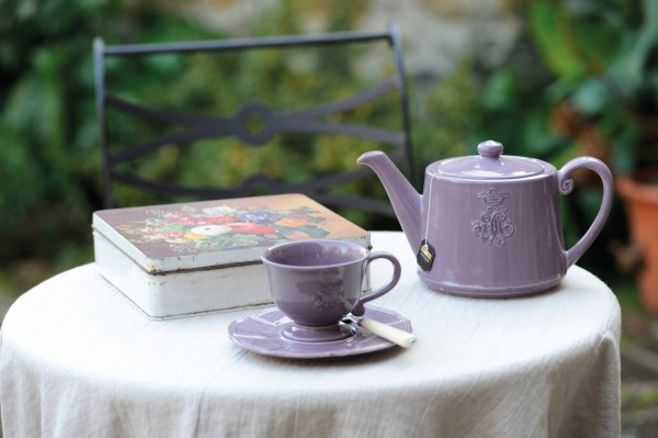 Teetasse Corona Viola von Virginia Casa