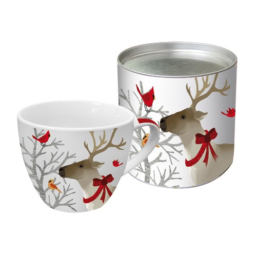 Grosse Tasse Deer Friends
