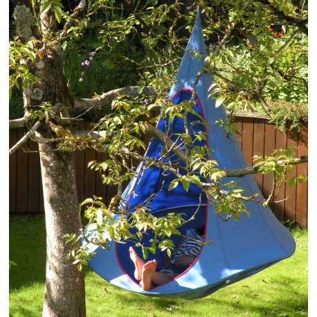 Single Cacoon von Hang-in-out, blau