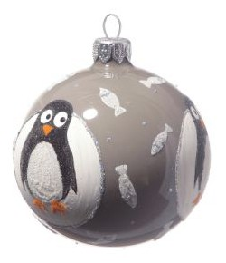 Christbaumkugel Pinguin