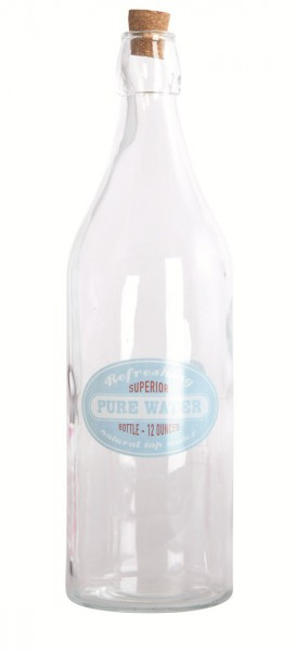 Wasserflasche Pure waters von House Doctor