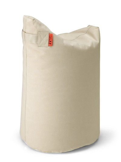 Outdoor Sitzkissen in Canvas-Stoff, beige