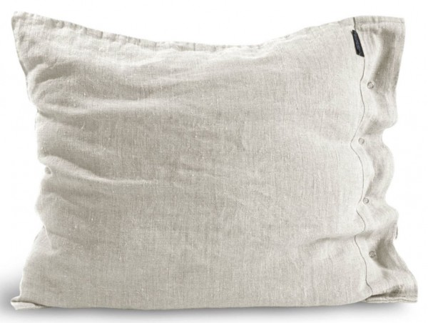 Kopfkissen von Lovely Linen in light grey